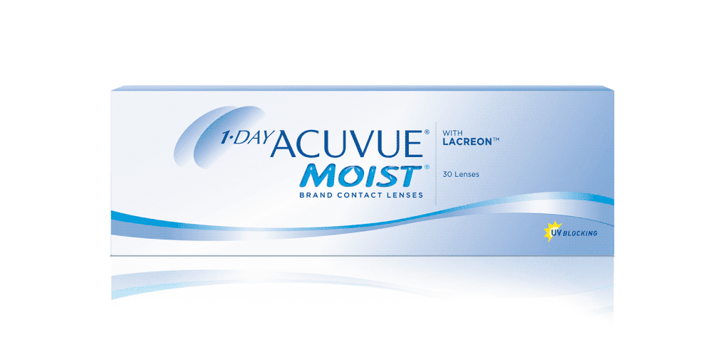 1 Day Acuvue Moist Acuvue Brand Contact Lenses