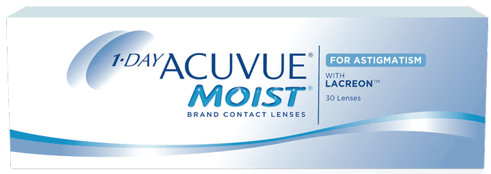 1-DAY ACUVUE® MOIST for ASTIGMATISM product image
