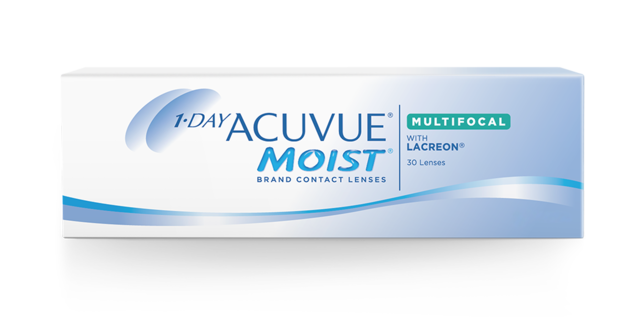 1-DAY ACUVUE® MOIST with PUPIL OPTIMIZED DESIGN