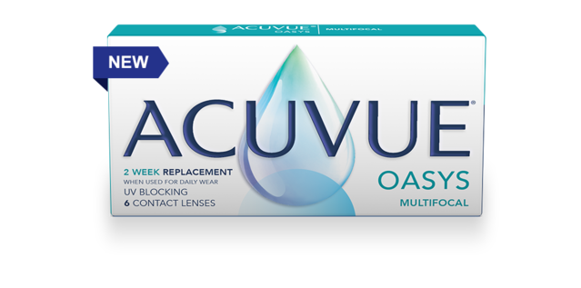 ACUVUE® OASYS with PUPIL OPTIMIZED DESIGN