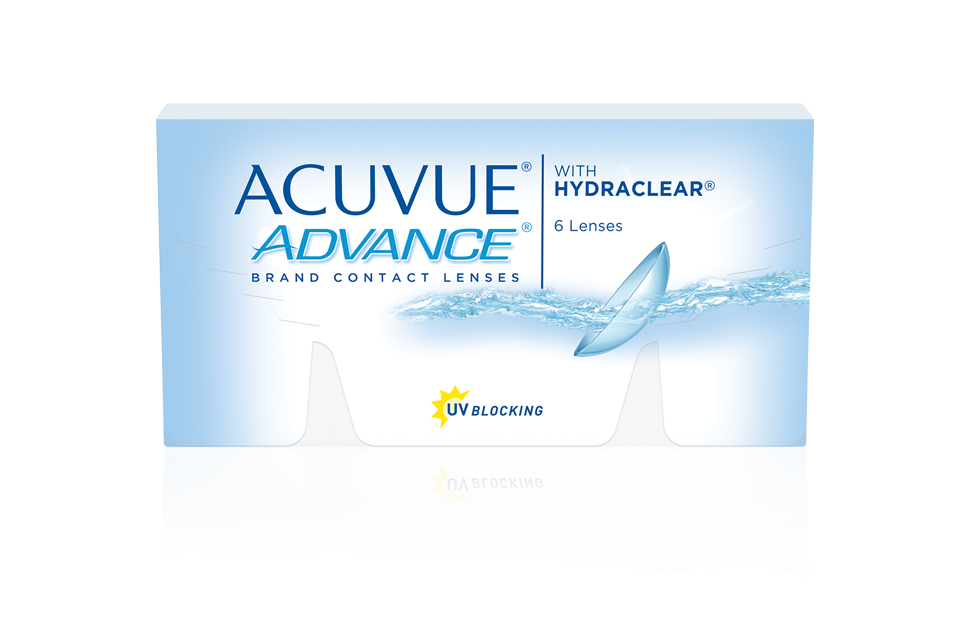 ACUVUE® ADVANCE with HYDRACLEAR® Technology