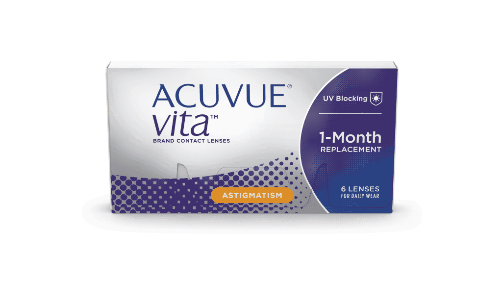 ACUVUE® VITA® Brand Contact Lenses for ASTIGMATISM | ACUVUE