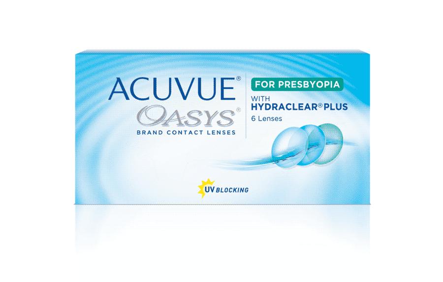 ACUVUE OASYS® 2-Week for Presbyopia (Multifocal)